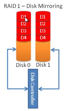 RAID1 (Disk Mirroring)